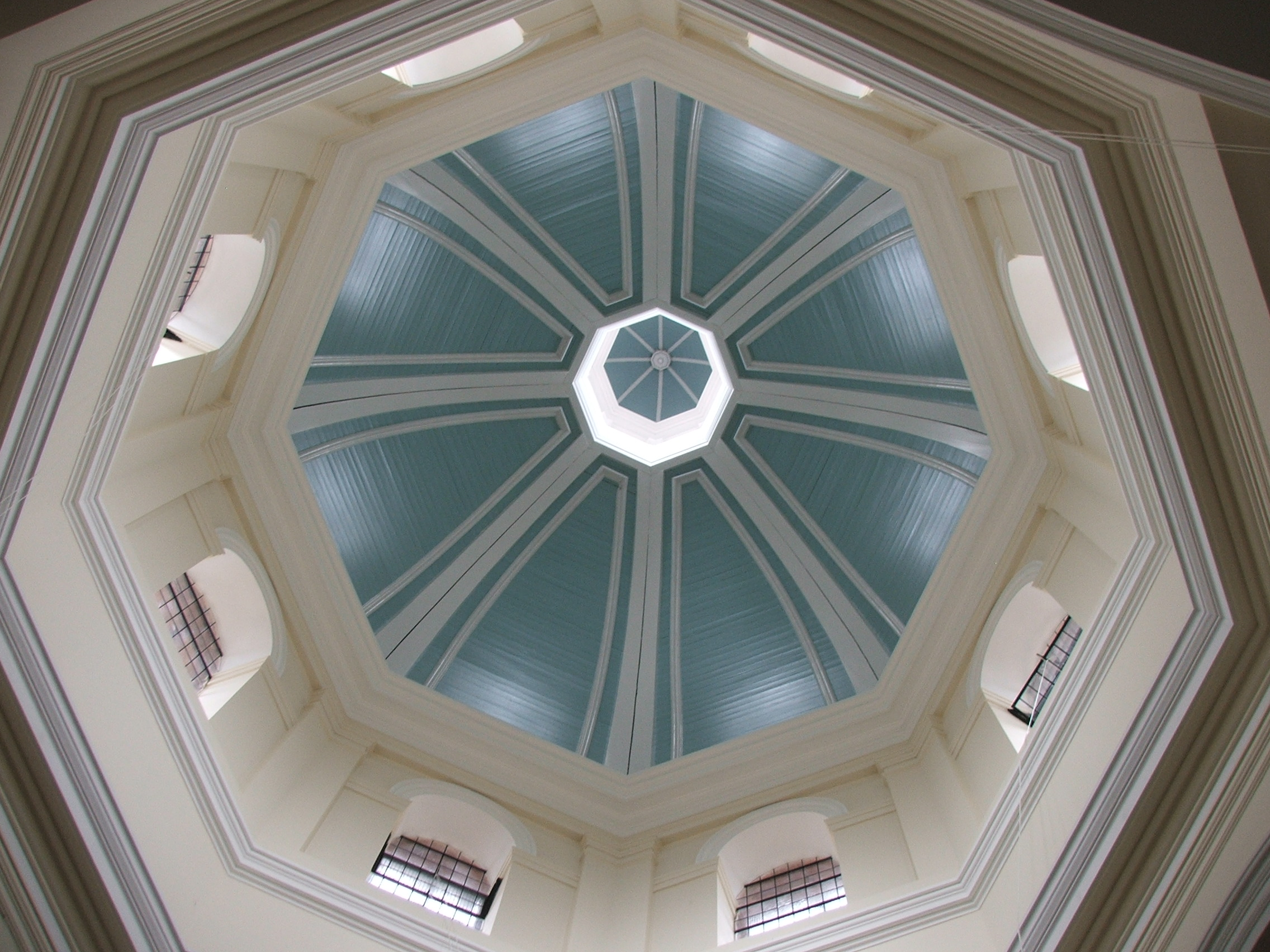 The newly refurbished dome
